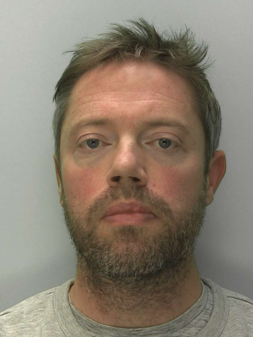 Lee Hawthorne received a suspended prison sentence for two upskirting offences (Gloucestershire Police/PA).