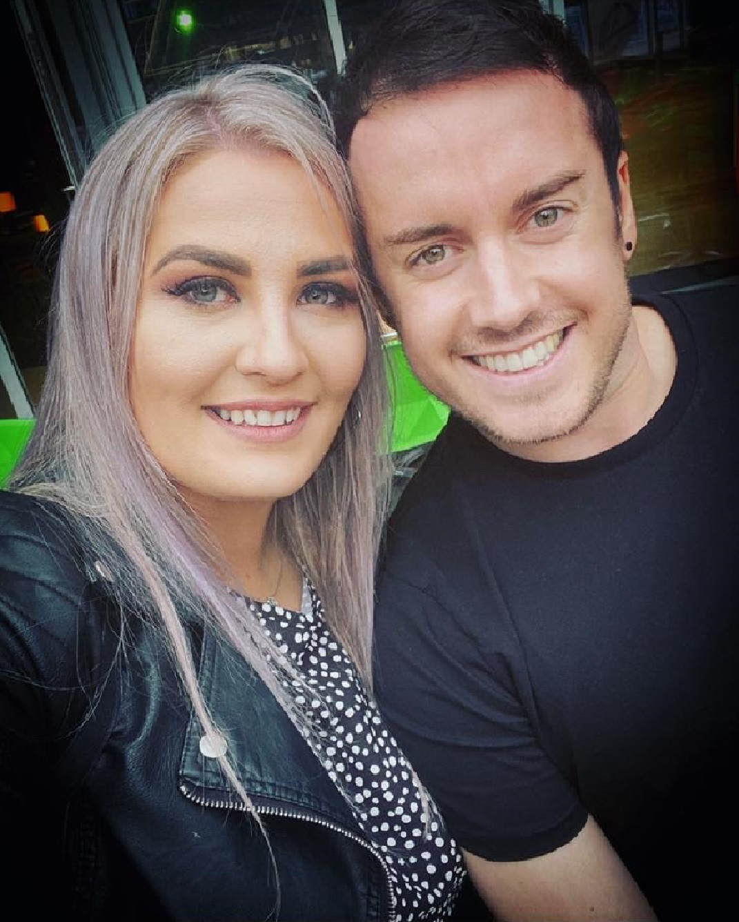 Jack Twigg and his fiancee Rhiannon Craddock