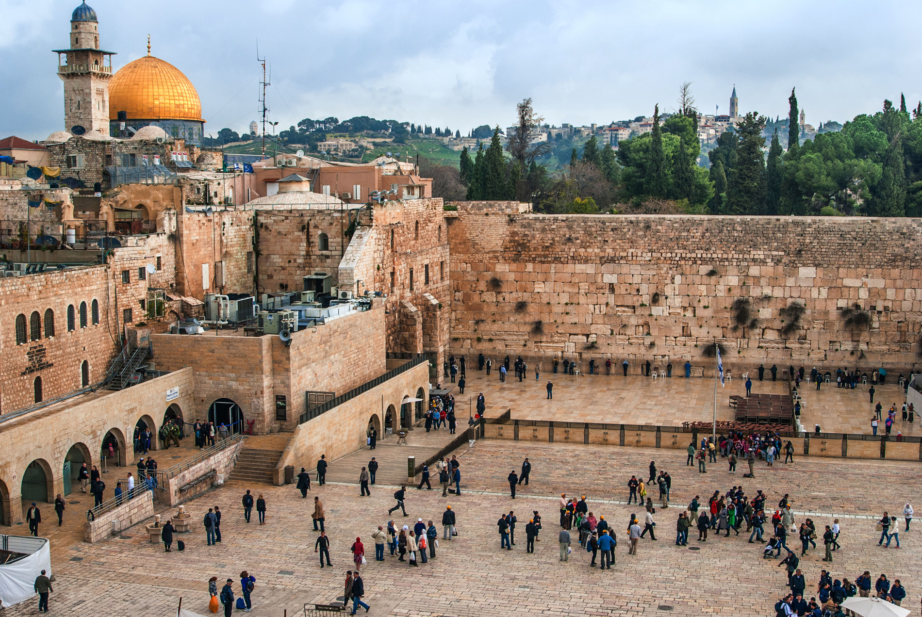 The Western Wall,Temple Mount, Jerusalem (Alamy/PA)