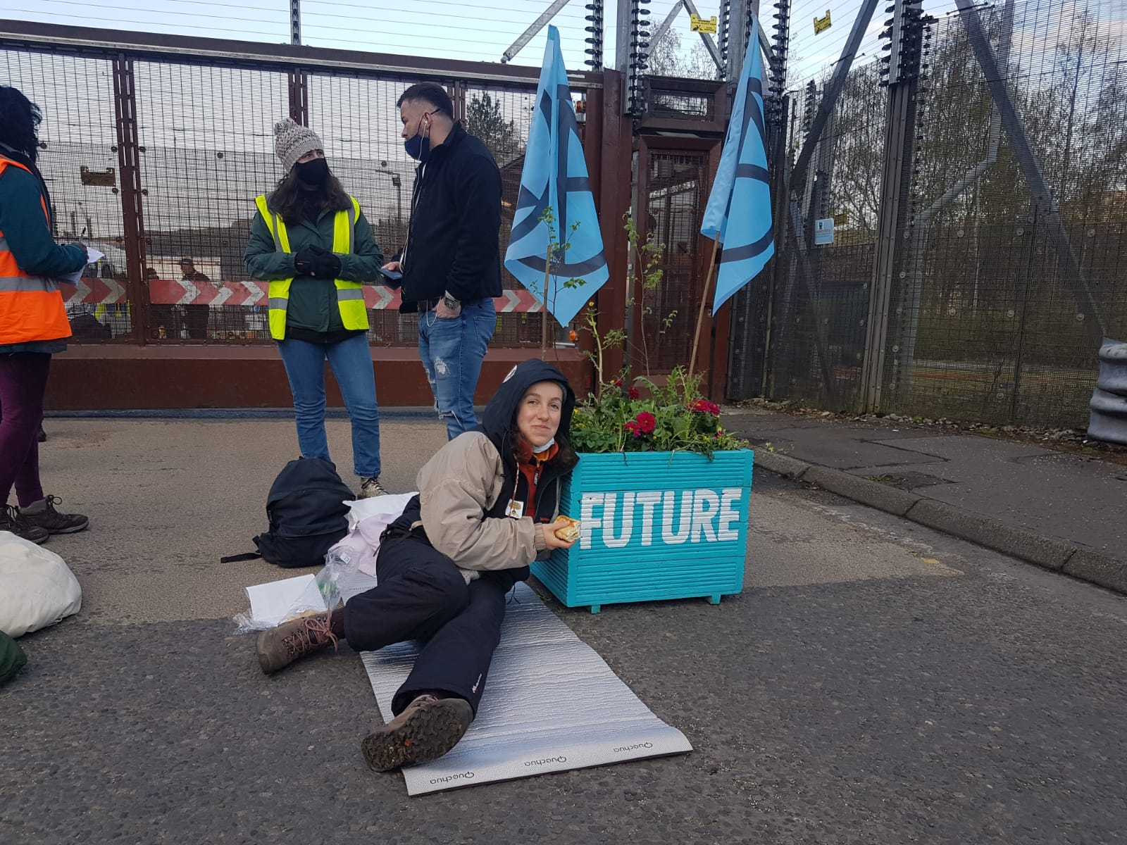 Protest at Faslane