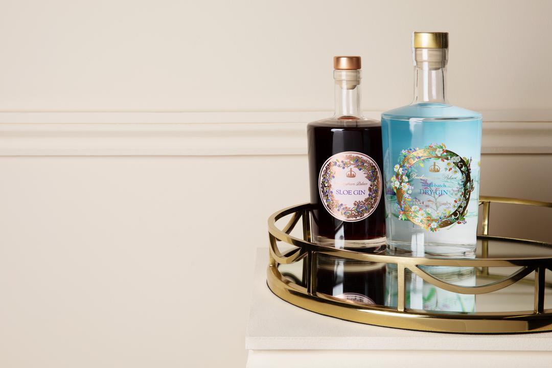 Buckingham Palace Sloe Gin and Buckingham Palace Gin