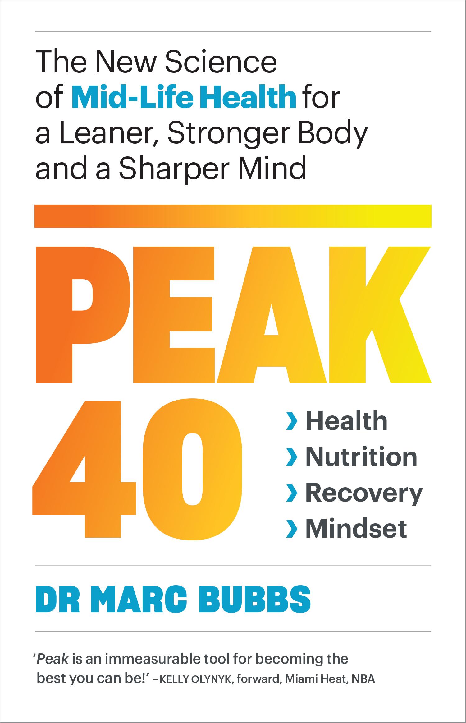Peak 40 cover (Chelsea Green/PA)