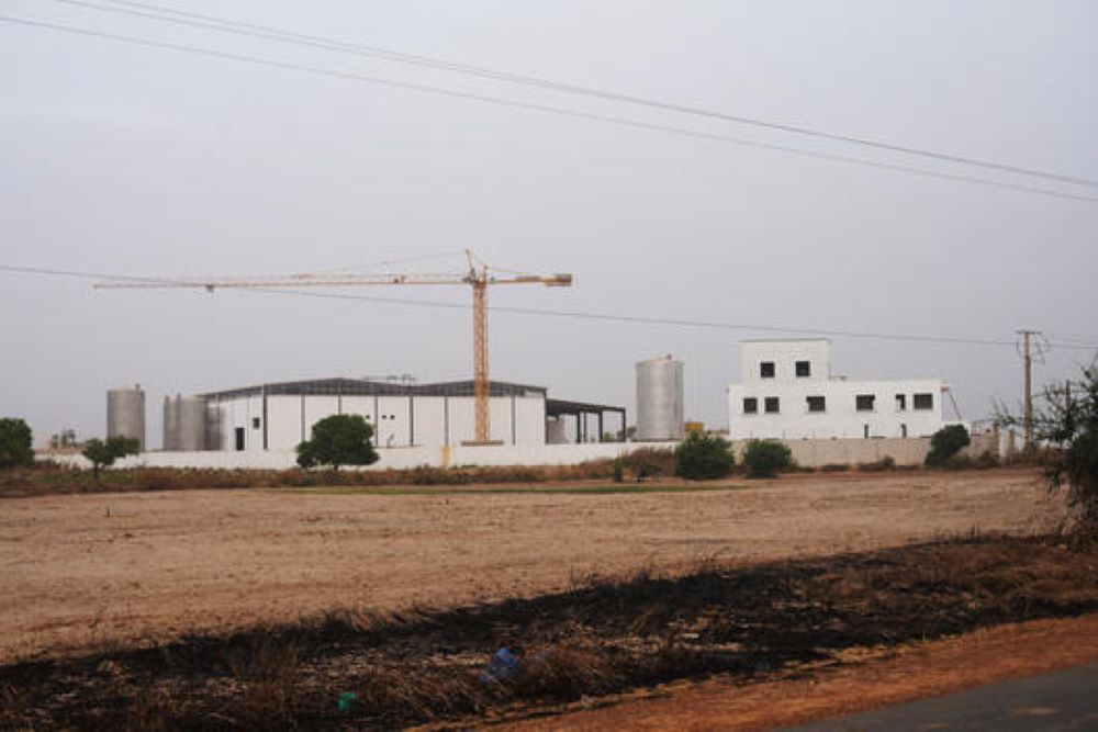 Fish meal factory