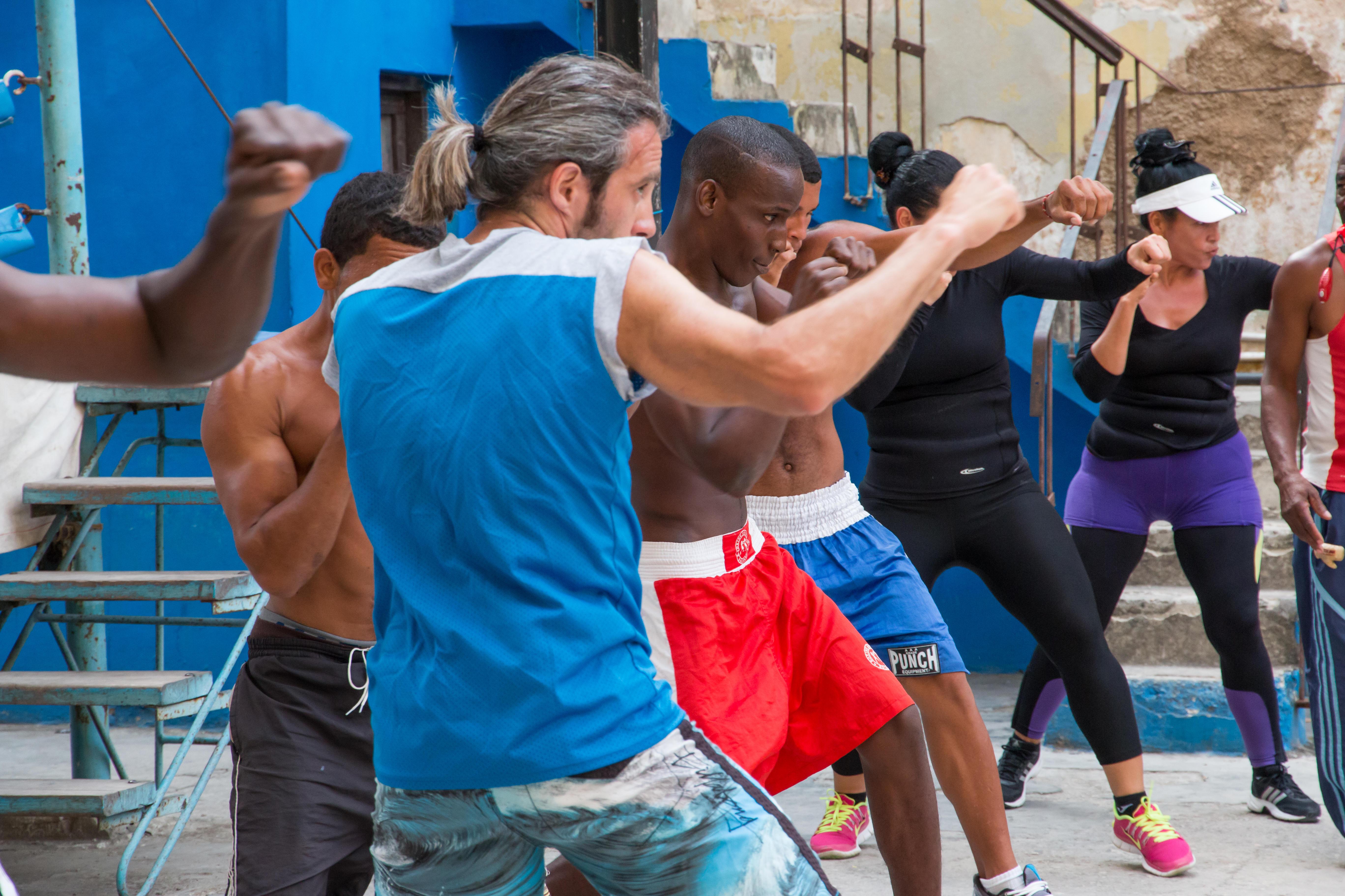 boxing workout class