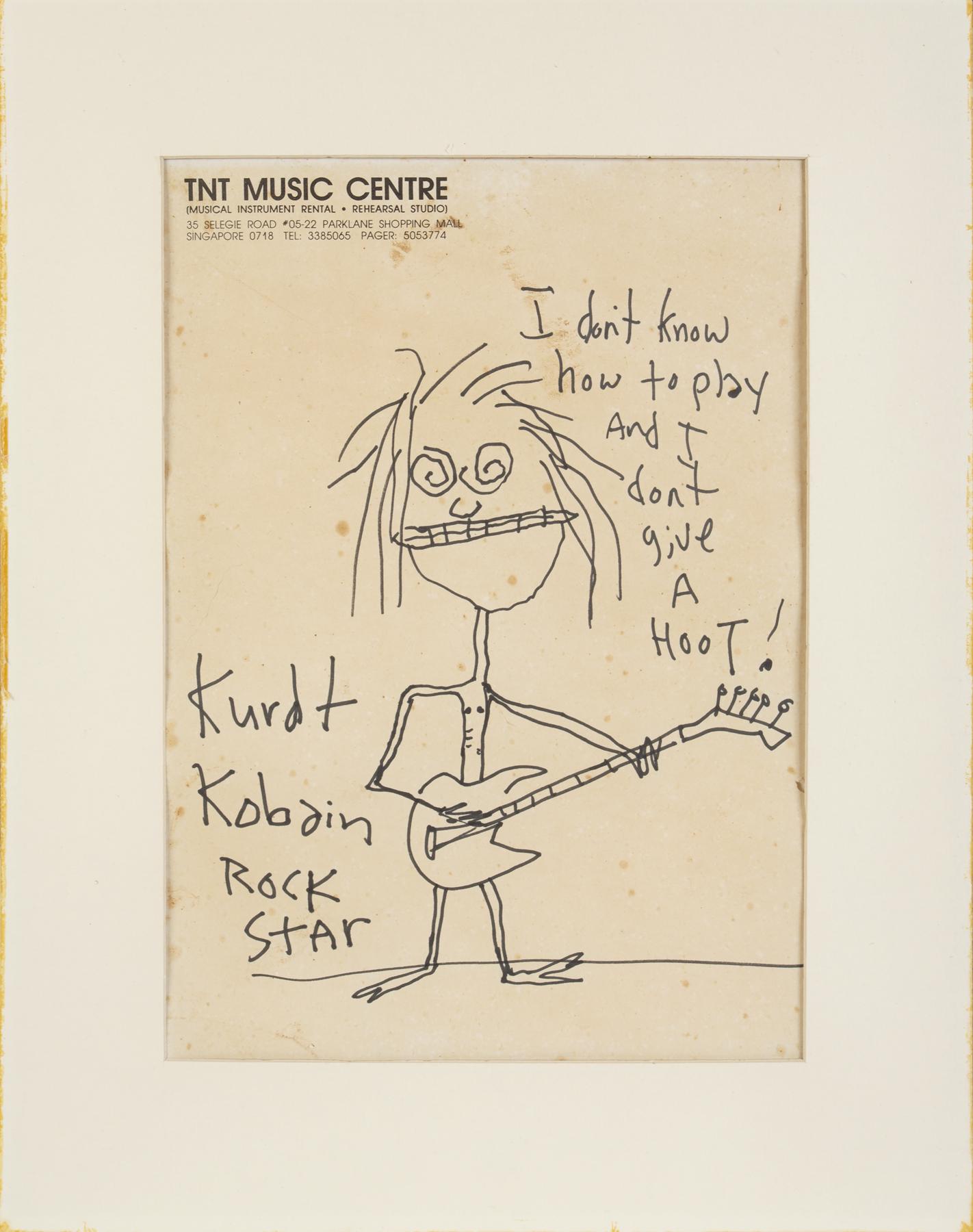 Drawing by Kurt Cobain