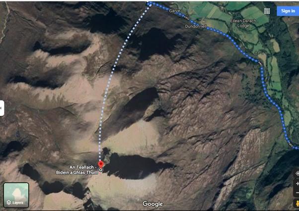 A Teallach route