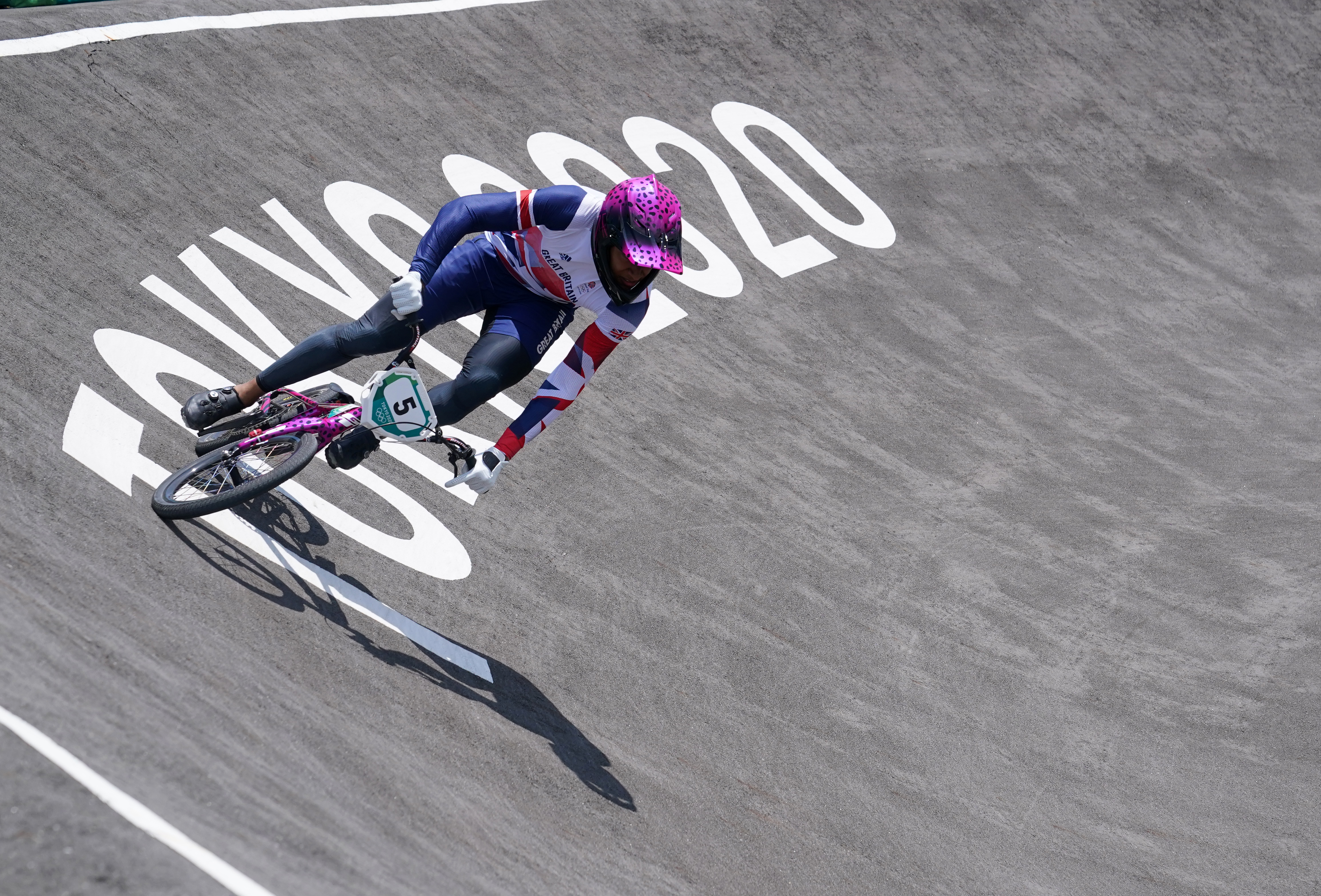 Kye Whyte at the Tokyo Olympic Games