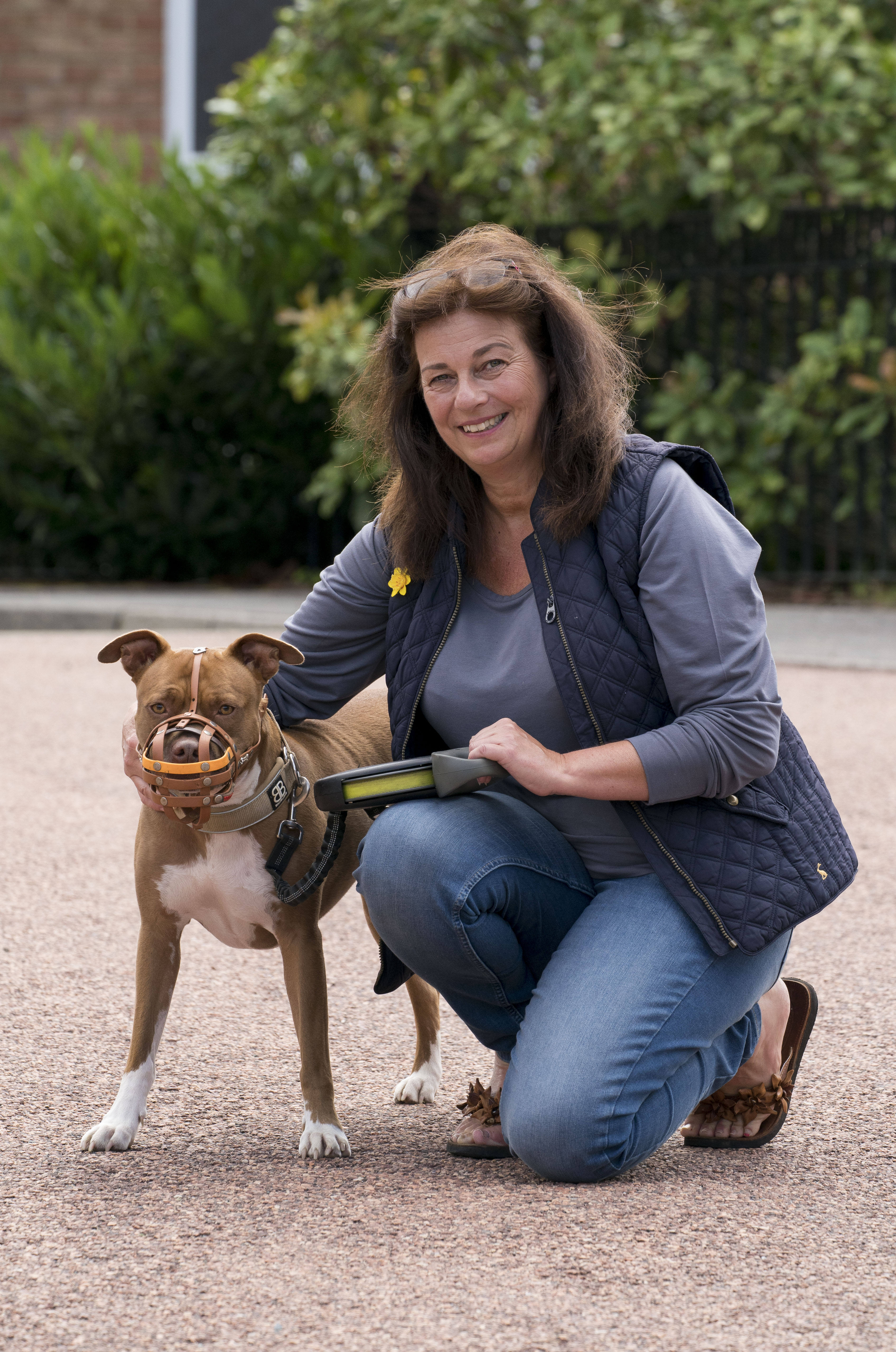 Anita Mehdi and her dog Lola