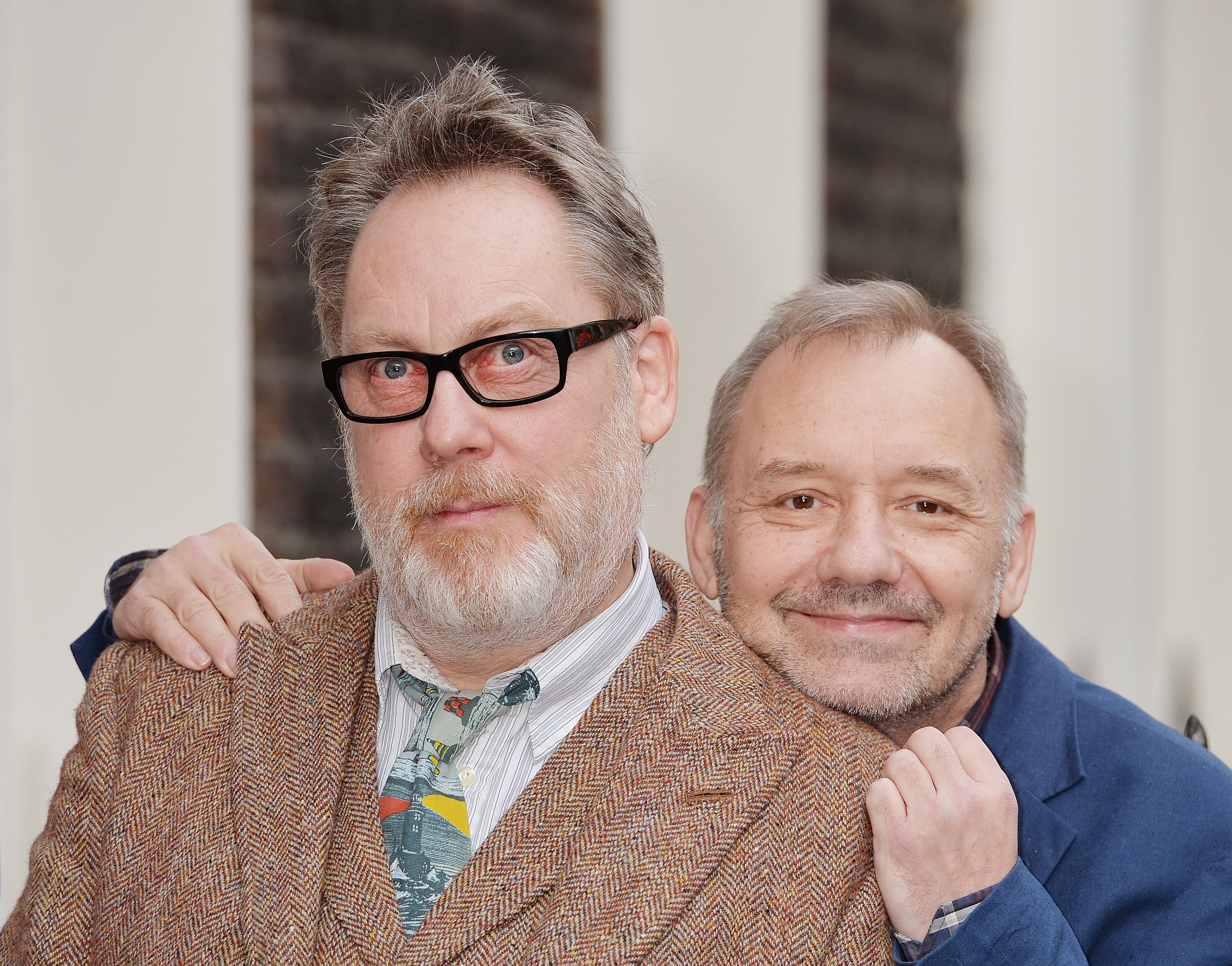 Vic Reeves and Bob Mortimer prior to their UK tour in 2016 (John Stillwell/PA)